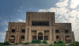 Бывший дворец Саддама Хусейна, Вавилон, Ирак стоковые изображения