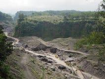 Бывший вулкан Стоковое Фото
