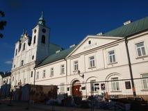 Бывший монастырь Piarist, ³ w RzeszÃ, Польша Стоковые Изображения RF