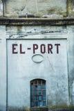 Бывший немецкий склад порта Стоковая Фотография RF