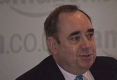 Бывший первый министр Шотландии Алекса Salmond стоковое фото rf