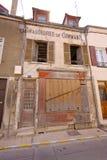 Бывший французский обувной магазин Стоковое Изображение