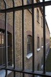 бывшяя тюрьма Стоковые Фото