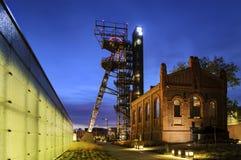 Бывшяя угольная шахта Стоковая Фотография