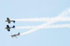 быки aerobatics летая команда Стоковая Фотография RF