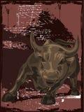 бык одичалый иллюстрация вектора