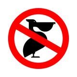 Бык стопа Буйвол запрета Красная запрещающая опасность дорожного знака бесплатная иллюстрация