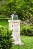 Были Wallachian, более последний румынский драматург, писатель рассказа, поэт, менеджер театра, политический комментатор и журнал стоковая фотография