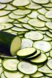 был отрезанным всем zucchini Стоковые Фото