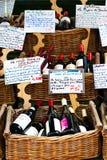 был проданным вином улицы Стоковые Фото