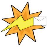 быстрая почта бесплатная иллюстрация
