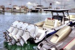БЫСТРАЯ шлюпка в Key West стоковое фото rf