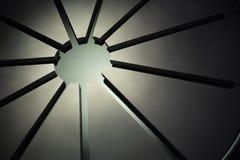 Быстрое поперечное сечение ожога ракеты -носителя ракеты космического летательного аппарата многоразового использования Стоковая Фотография RF
