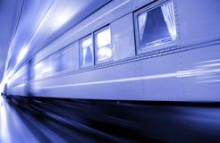 быстроподвижный поезд Стоковая Фотография RF