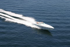быстроходный катер Стоковые Фотографии RF
