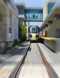 Быстроходный поезд Brightline Стоковые Фото