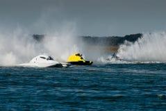 быстроходный катер гонки Стоковые Фотографии RF