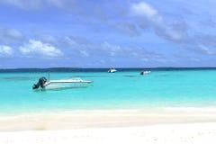 Быстроходный катер Мальдивов Стоковое Фото