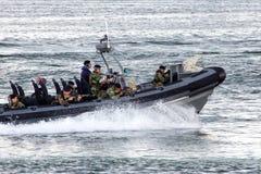 Быстроходный катер морских пехотинцов Стоковые Изображения