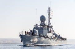 Быстроходный катер от немецкого военно-морского флота Стоковое Изображение