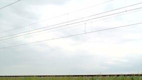 Быстроходный поезд ЛЬДА сток-видео