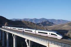Быстроходный поезд Стоковые Изображения