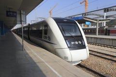 Быстроходный поезд Стоковая Фотография