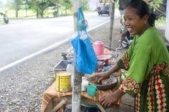 быстро-приготовленное питание Индонесия Стоковые Фотографии RF