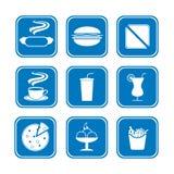 быстро-приготовленное питание Стоковые Изображения RF