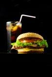 быстро-приготовленное питание Стоковые Изображения