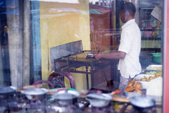Быстро-приготовленное питание Sri lankan Стоковое Изображение