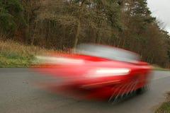быстро проходить автомобиля Стоковые Изображения RF