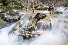 быстрые воды Стоковое Изображение