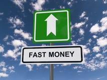 Быстрые деньги этот путь Стоковое фото RF