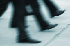 быстрые шаги Стоковые Фото