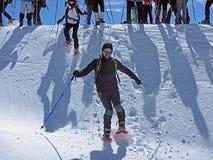 Быстрые snowshoes Стоковое Изображение