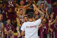 Быстрый Бухарест дует Ultras Стоковые Изображения RF