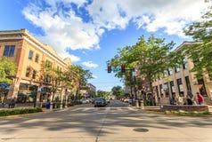 Быстрый город в Южной Дакоте, США Стоковые Изображения