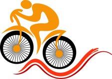 Быстрый дизайн логотипа цикла Стоковое фото RF