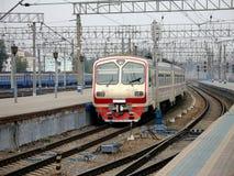 быстрый поезд станции Стоковая Фотография RF