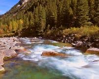 Быстрый поток горы Стоковое Фото
