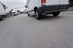 Быстрый фургон поставки Стоковая Фотография