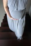 Быть осторожным во время беременности Стоковая Фотография