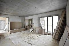 Был восстановленным домом стоковое изображение