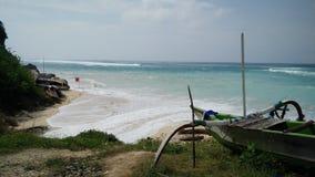 Былинный пляж pandawa Стоковое фото RF