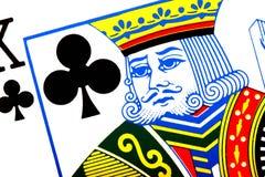 бьет короля Стоковые Фотографии RF