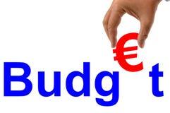 Бюджет в евро бесплатная иллюстрация