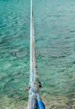 Бюрократизм на голубой веревочке Стоковая Фотография RF
