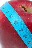 бюрократизм яблока измеряя Стоковое фото RF