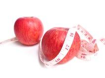 бюрократизм яблока измеряя Стоковое Фото